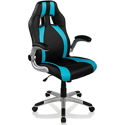 racemaster racing b rostuhl gt stripes series gaming chair gamer stuhl klappbare armlehnen. Black Bedroom Furniture Sets. Home Design Ideas