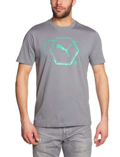 PUMA Herren T-Shirt Graphic Story quiet shade