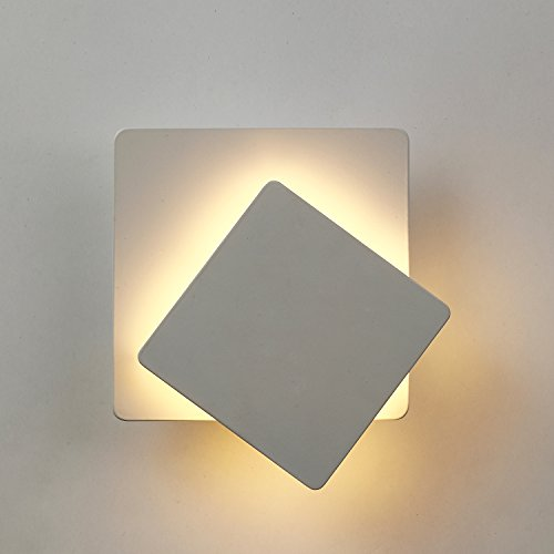 Topmo-plus 5W Lampada da parete Illuminazione Interna 360 gradi ...