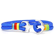 Ancla pulsera TH Anchor Nylon Paracord Azul