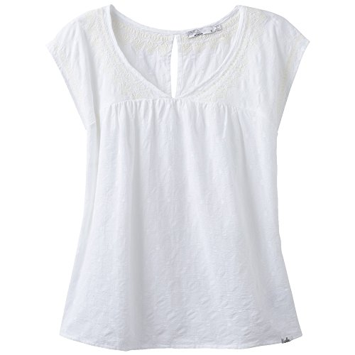 Prana Blossom Top, damen, weiß (Rei Camp)