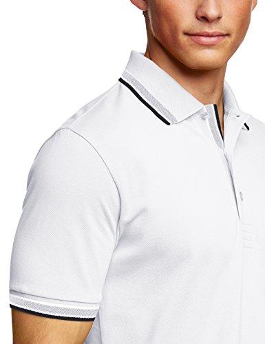 BOSS Green Herren Poloshirt Paddy Weiß (White 100)