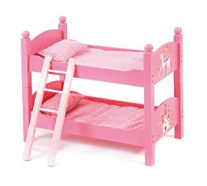 lit superpos de poup e design petite f e rose jeux et jouets. Black Bedroom Furniture Sets. Home Design Ideas