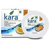 Kara Wipes Nail Polish Remover With Vitamin Removes Nail Polish, Orange (30 Pulls) x ( Pack Of 2 )
