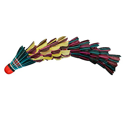 eastlion-11pcs-red-head-multicolor-shuttlecock-outdoor-sports-durable-training-entertainment-badmint