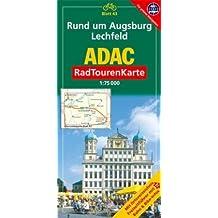 Rund um Augsburg, Lechfeld: 1:75000