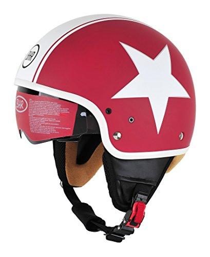 BHR 94168 Casco Uomo Pure, Star Rosso, S