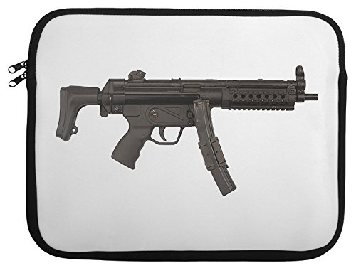 Submachine Gun Laptop Case 13