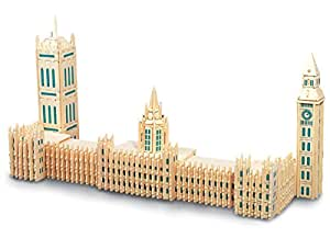 Houses of Parliament QUAY Woodcraft Construction Kit FSC
