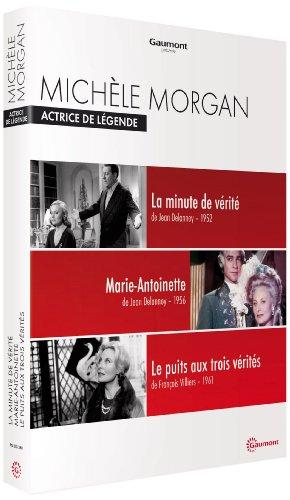 Bild von Coffret michèle morgan : la minute de vérité ; marie-antoinette reine de France ; le puits aux trois vérités [FR Import]