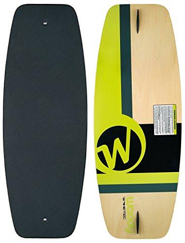 MESLE WAKETEC Wakeskate Woody 41'', 105 cm EVA Flat-Deck Board bis 80 kg