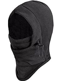 Seibertron New Polar Fleece Balaclava Warm Full Face Cover Winter Camping Ski Hiking Snow Mask Beanie Cs Hat for Valentine's Day Gift
