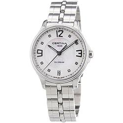 Certina Ladies'Watch XS Analogue Quartz Stainless Steel C021,210,11,116,00