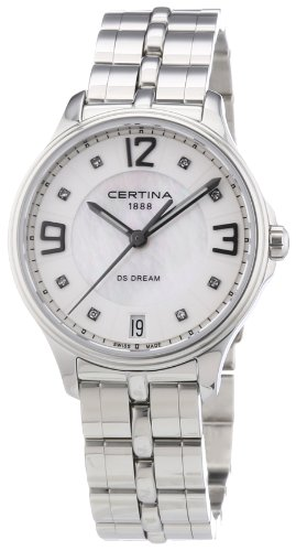 Certina Ladies'Watch XS Analogue Quartz Stainless Steel C021,210,11,116,00