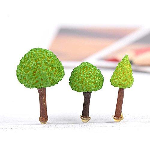 Mode Garten Verzierung Kunstgewerbe 3*Künstliche Bäume Deko Handwerk Topf DIY Garten Deko Mode-Figur Puppenhaus Deko Zubehör Puppenhaus Neu