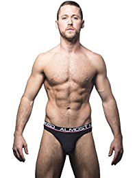 Andrew Christian Almost Naked Collection Black Color Tagless Premium Thong Underwear For Men
