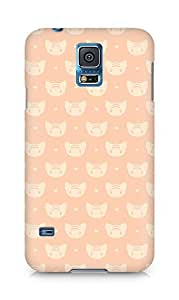 Amez designer printed 3d premium high quality back case cover for Samsung Galaxy S5 (cats1)