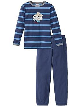 Schiesser Jungen Zweiteiliger Capt´n Sharky Kn Schlafanzug Lang