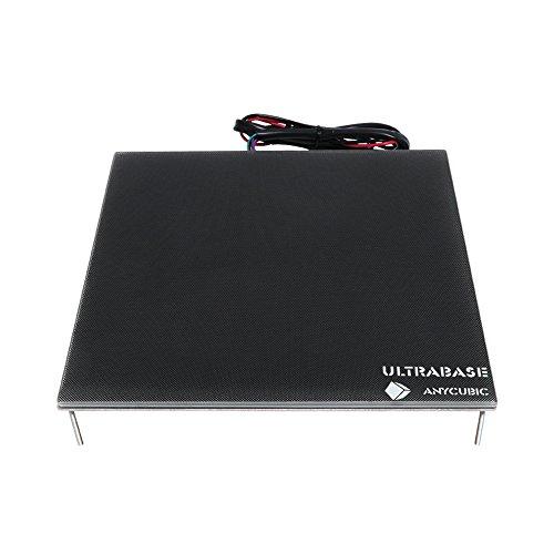 Anycubic Ultrabase plataforma de impresora 3d con cama caliente y plato de...