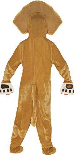 Imagen de smiffy's  disfraz infantil alex, el león de madagascar, color marrón 20484m  alternativa