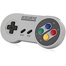 YIKESHU Gamepad 8bitdo SFC30 Controlador inalámbrico Bluetooth Doble joystick clásico para / Android / Windows