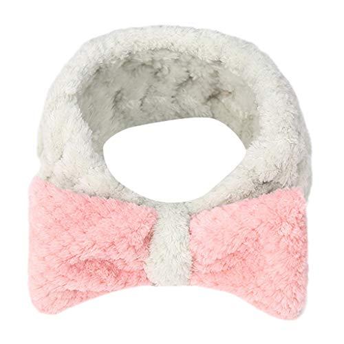 s und nützliches Stirnband Frauen-Damen-elastisches Haarband-Band-Bogen-Knoten-netter Kopf-reizendes Haarband A Freie Größe ()