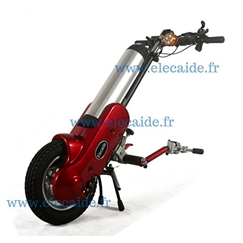 ElecAide: Assistant électrique pour fauteuil roulant manuel (chassis fixe)