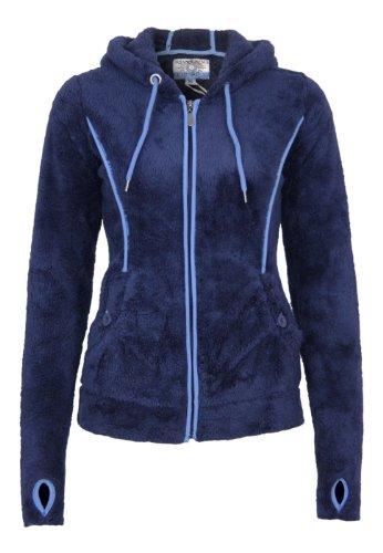 Urban Surface Teddy Fleece Jacke Dark Blue