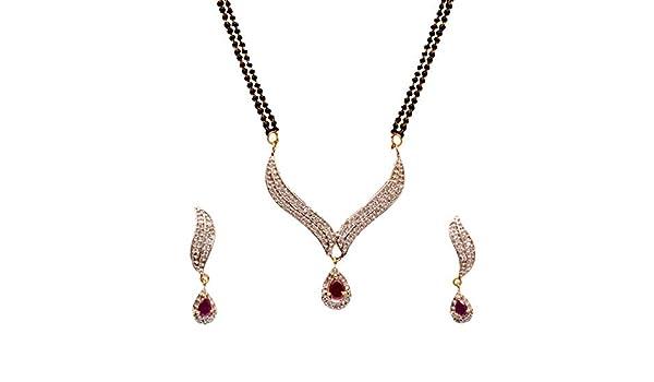 Diyofa Fashion Jewelry AD CZ Zircon Floral Design Pendant Set
