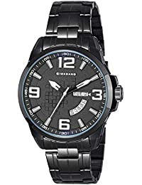 (Renewed) Giordano Analog Black Dial Men's Watch - C1001-22