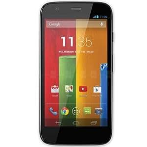 """Motorola Moto G Smartphone, Display HD 4,5"""", Processore Qualcomm, Memoria 16 GB, MicroSIM, Android 4.3 OS, Fotocamera da 5 MP, Nero [Italia]"""