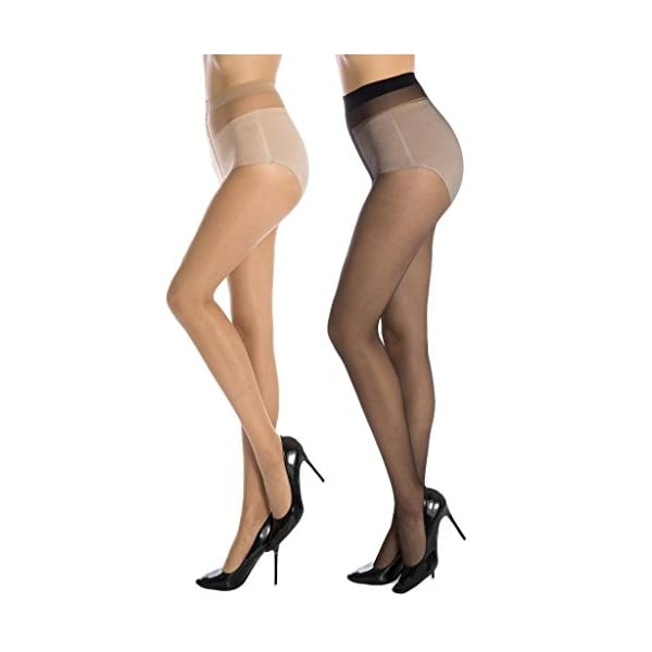 Cotson Women's Nylon Stockings (Multicolour)