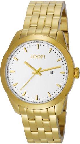 Joop Essential - Reloj de cuarzo para hombre, con correa de acero inoxidable, color dorado