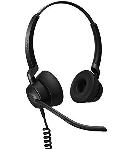 Jabra Engage 50 Duo digitales Call-Center-Kabel-Headset mit USB-C-Konnektivität  für Softphones (PCs)/Tablets/Smartphones Digitales Usb-stereo-headset