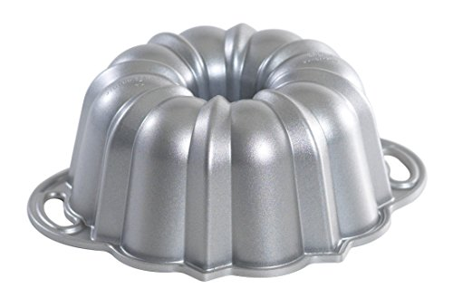 Nordic Ware Platinum Collection Bundt Pan, 6-Cup Aluminium Bundt Pan
