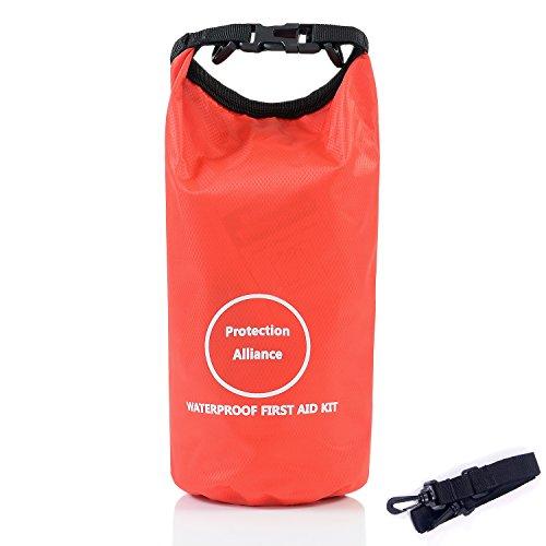 YUUVE Kit de Supervivencia de Botiquín de Primeros Auxilios Impermeable IR de excursión Acampar al Aire Libre