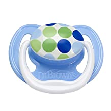 Dr. Brown'S Stage 2 Prevent Pacifier, 6-18 Months [Dots Pv21404-Es]