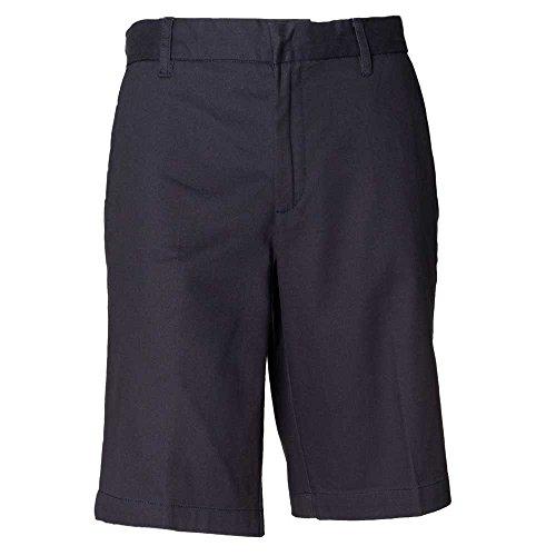 Henbury Womens Teflon Coated Chino Casual Cotton Shorts Navy