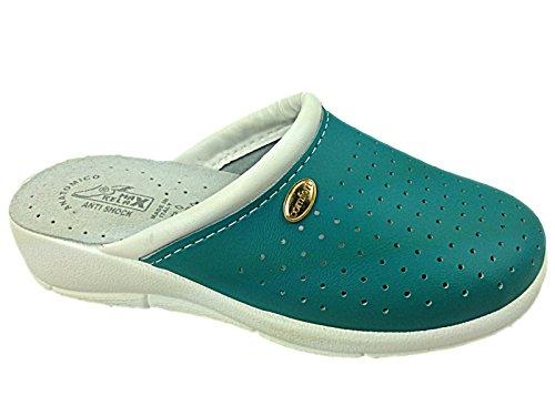 Foster Footwear - Sandali con Zeppa donna Green