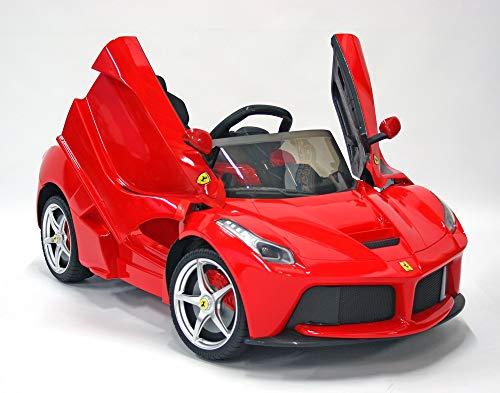 Kids Cars Direct Ferrari LaFerrari - Coche eléctrico para niños (12 V),...