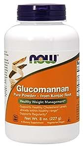 NOW Foods Glucomannan 100% Pure Powder - 8 oz.