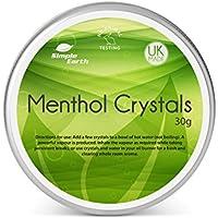 Simple Earth Menthol Kristalle 30g Döschen, Linderung von Erkältung und Grippe Symptomen, reinigt die Nebenhöhlen preisvergleich bei billige-tabletten.eu