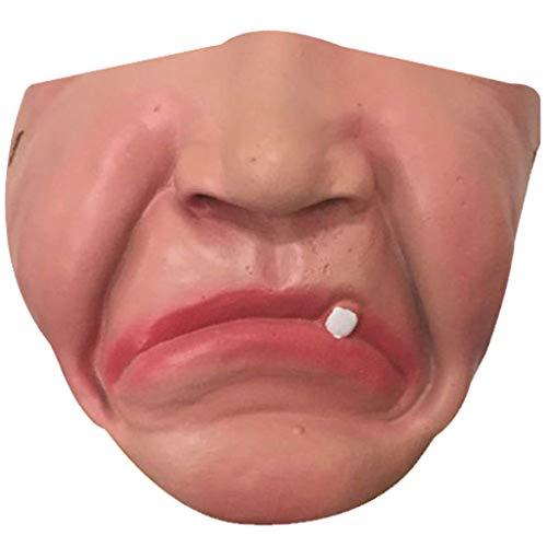 Huacat Halloween Maske realistisch Voller Kopf Maskerade für Cross Dresser Cosplayer Mann Maske Halloween Kostüm-Party (Günstige Kinder Kostüm Verkauf)