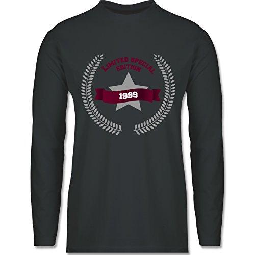 Geburtstag - 1999 Limited Special Edition - Longsleeve / langärmeliges T-Shirt für Herren Anthrazit