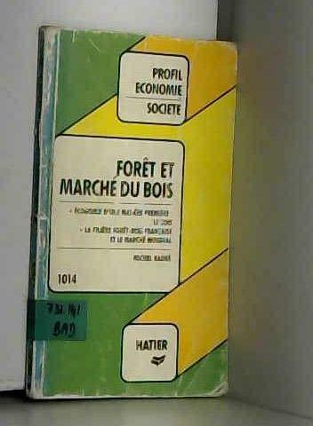 Forêt et marché du bois