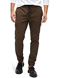 TOM TAILOR DENIM für Männer pants / trousers Cargohose im Jogging-Stil