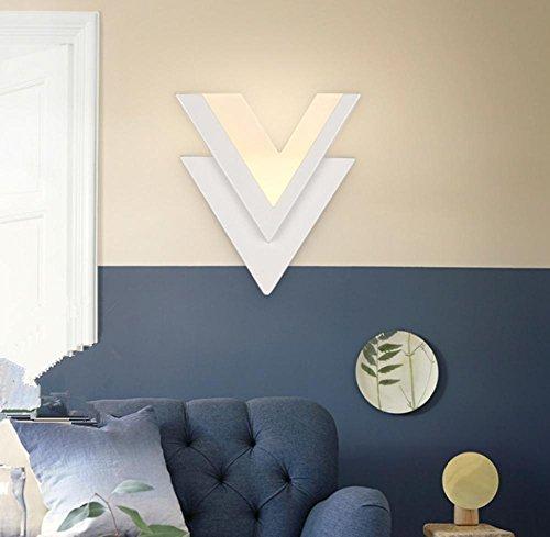 Le lit de chevet minimaliste moderne créatif a mené l'escalier de lampe de mur, pour la lampe de mur de chambre à coucher d'hôtel de salon d'allée de salon , 1