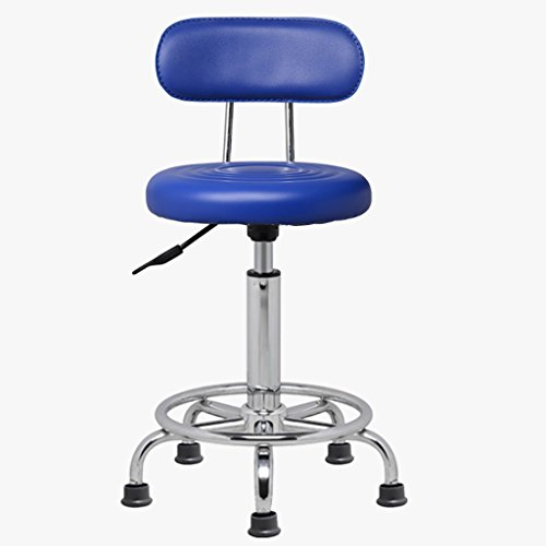 Preisvergleich Produktbild LXJYMX Wohnzimmer Hocker Bar Chair Swivel Bar Lift Stuhl Friseur Make-up Stuhl Labor Drehstuhl (Farbe : C)