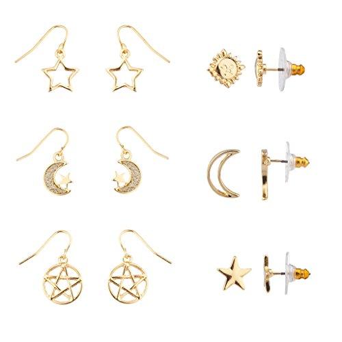 lux-sagoma-a-forma-di-stella-accessori-crescent-moon-galaxy-pentagram-sole-di-orecchini