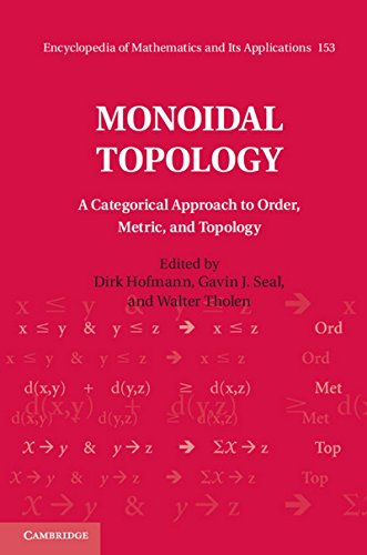 Monoidal Topology: A Categorical Approach to Order, Metric, and Topology (Encyclopedia of Mathematics and its Applications)